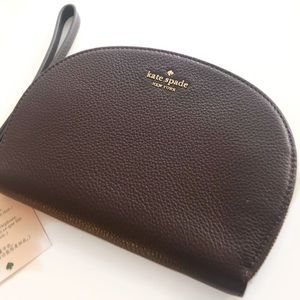 Kate spade, half moon wristlet, brand new w tags